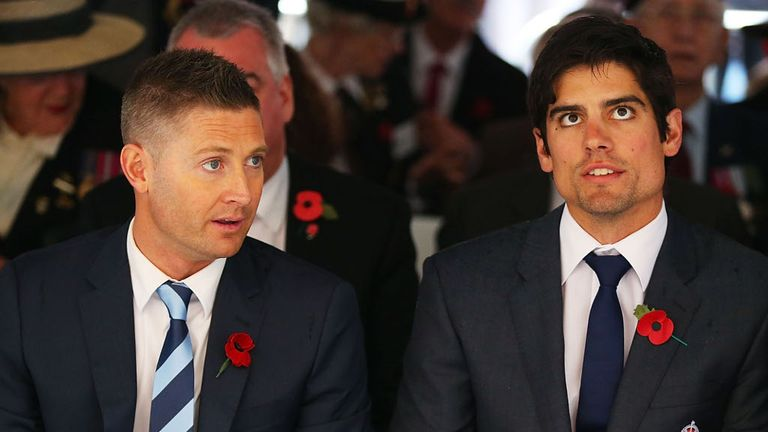Michael Clarke claims to know what Alastair Cook's team will be in Brisbane