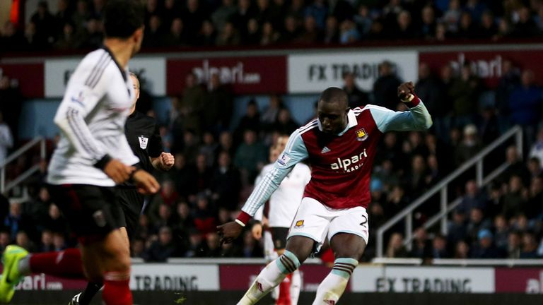 Mohamed Diame: Gears up to fire in the only goal