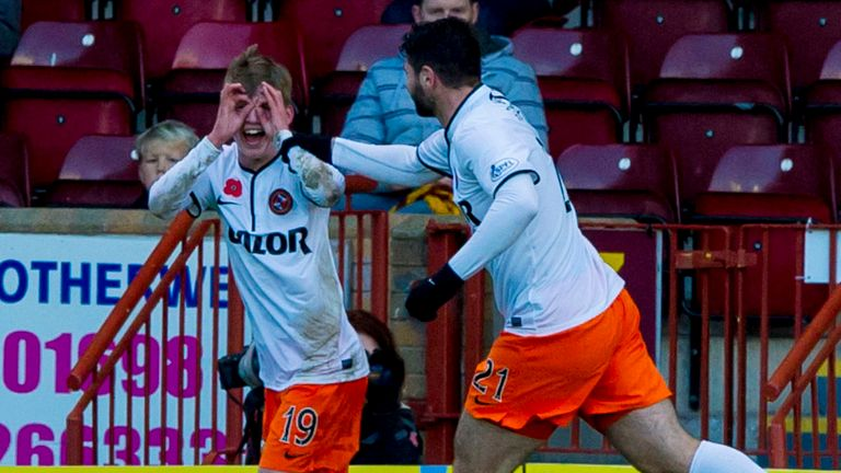 Ryan Gauld: Set up all four Dundee United goals