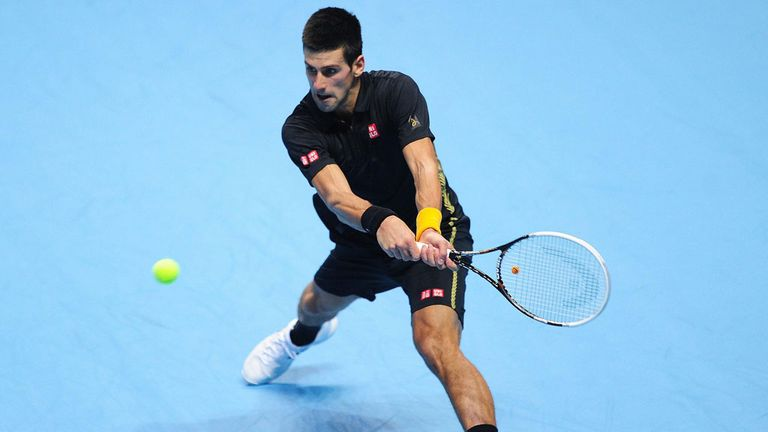 Novak Djokovic: The defending champion opens his O2 campaign against Roger Federer on Tuesday evening