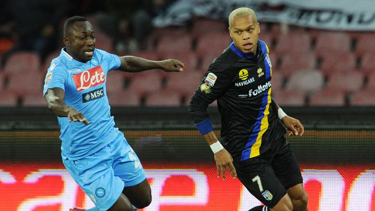 Pablo Armero: Napoli full-back loaned to West Ham