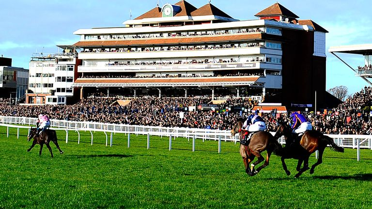 Newbury: Super Saturday card takes place