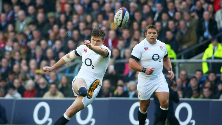 Farrell: showed his winning mentality against Australia