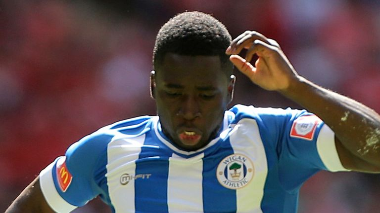 Nouha Dicko: Wigan striker in talks with Wolves