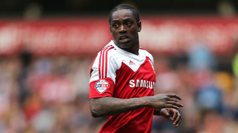 Nile Ranger: Swindon have terminated striker's contract