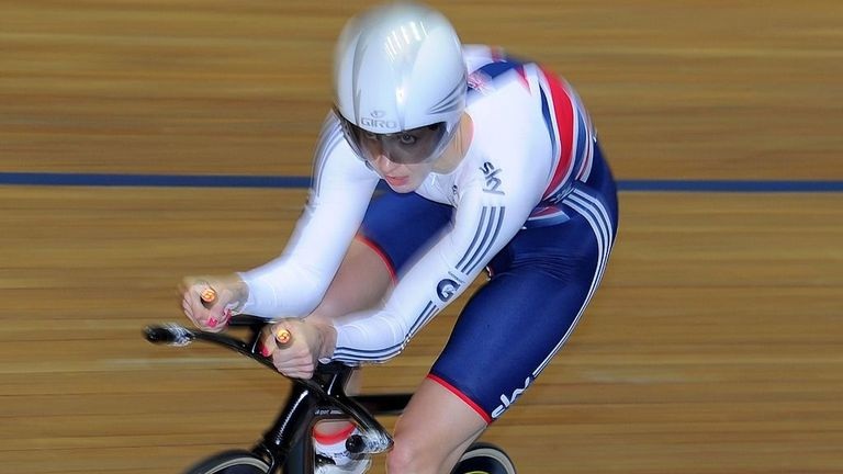 Joanna Rowsell qualified fastest by 1.3 seconds