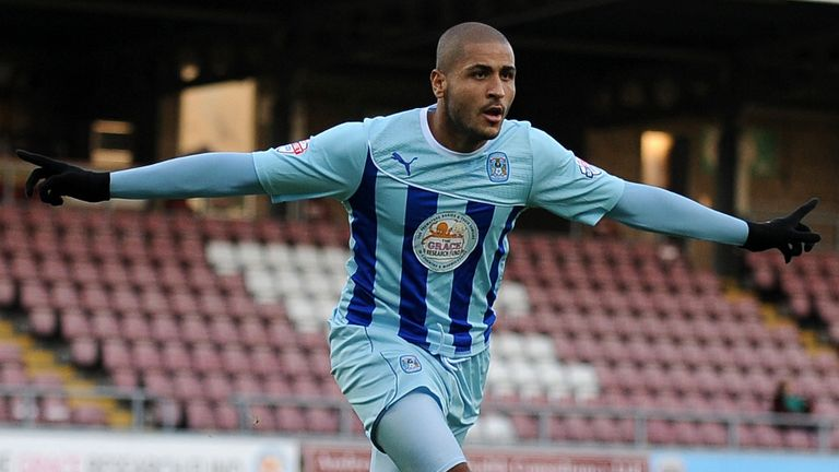Leon Clarke: Has already scored 18 goals for Coventry this season