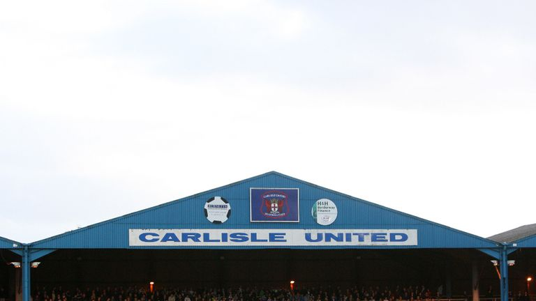 Brunton Park: Home to to the Cumbrians