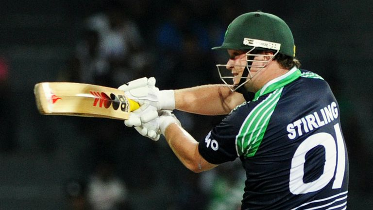 Paul Stirling: Was hit on the arm in the victory over UAE