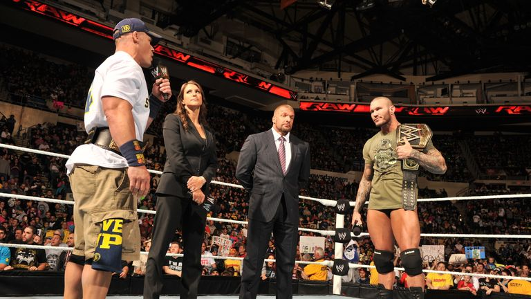 Cena and Orton will fight for the big belts at TLC