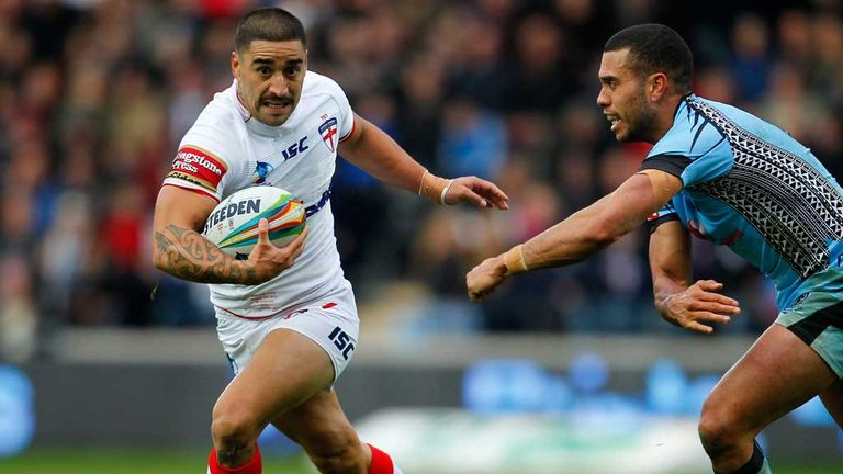 Rangi Chase: Finding his feet in the England side