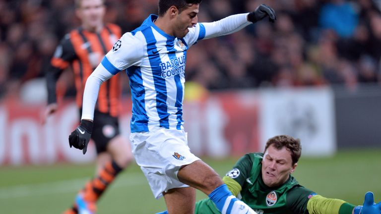 Carlos Vela: Got the only goal of the game