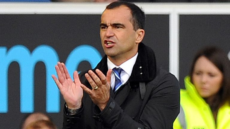 Roberto Martinez: Relishing the prospect of his first Merseyside derby as Everton boss