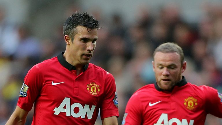 Van Persie and Rooney: Highly rated by Turner