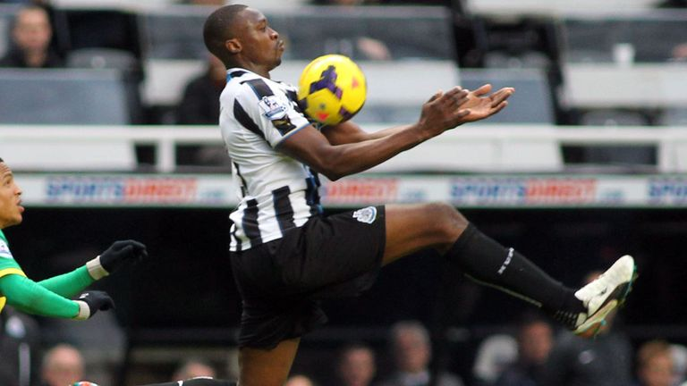 Brazil-bound Shola Ameobi is praised by Newcastle manager Alan Pardew