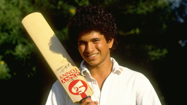 Tendulkar's Test career began back in 1989
