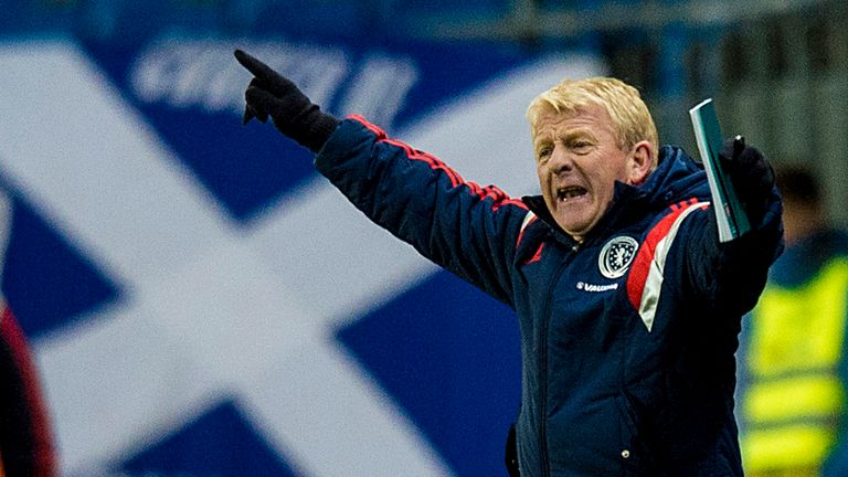 Gordon Strachan: Encouraged by Scotland's recent form