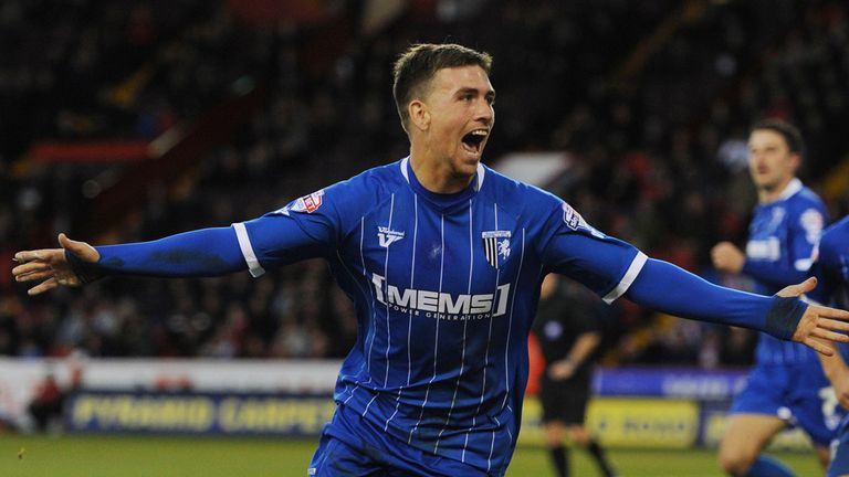 Cody McDonald: Late winner for Gillingham