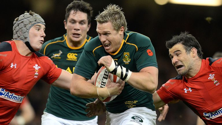 Mike Phillips (right): Wales gutted by defeat to Springboks