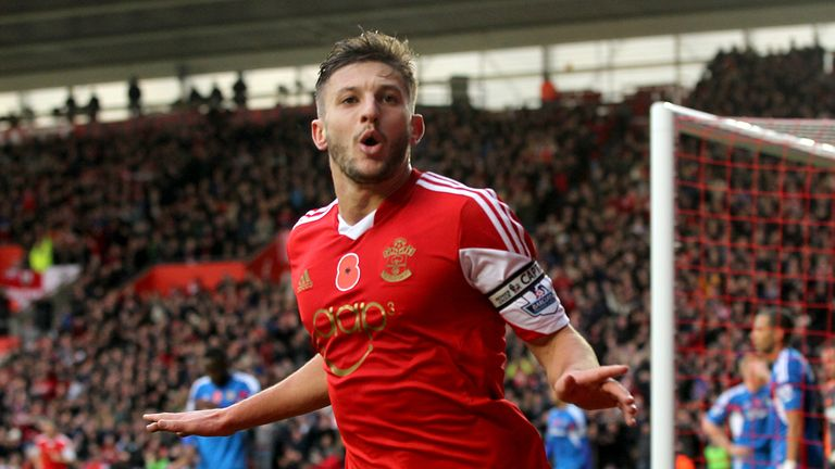 Adam Lallana: Could lead Southampton to victory on Saturday