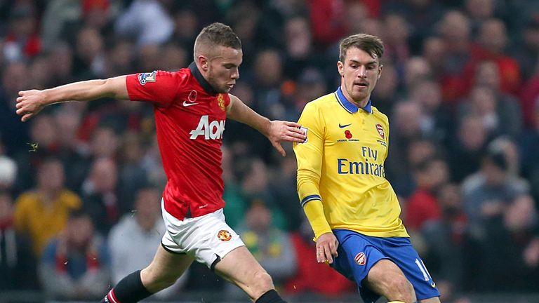 Tom Cleverley: Challenging Aaron Ramsey at Old Trafford on Sunday
