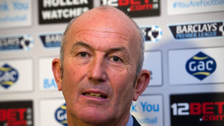 Tony Pulis: Crystal Palace manager looking to kick off his reign with a win