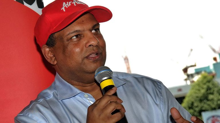 Tony Fernandes: Told fans to disregard paper claims