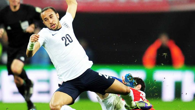 Andros Townsend: England winger earned his third cap against Chile