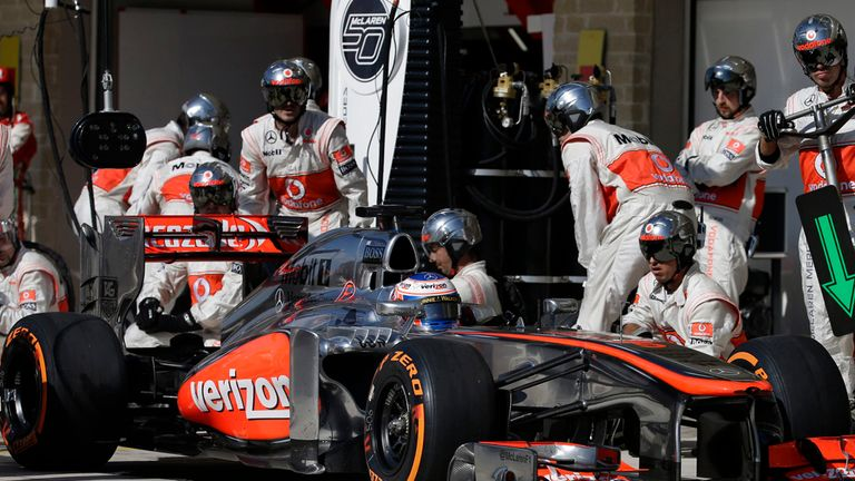Jenson Button: Recovered into the points in Austin but was still left frustrated