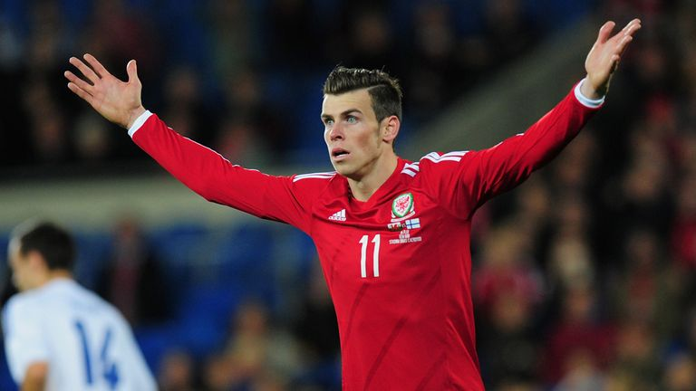 Gareth Bale: May not play in all of Wales' matches, Chris Coleman has admitted