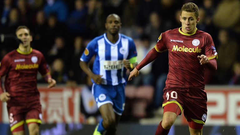 Thorgan Hazard: Still has Chelsea dream
