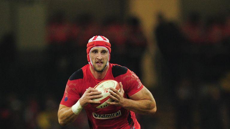 Luke Charteris: Ruled out of England clash