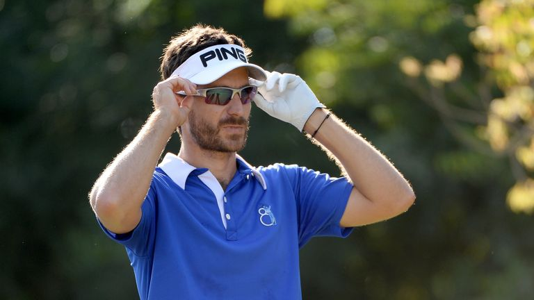 Alejandro Canizares during the first round of the DP World Tour Championship in Dubai