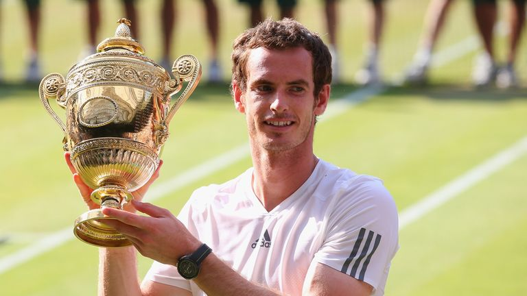 Andy Murray: His Wimbledon triumph in 2013 followed Olympic and US Open success in 2012
