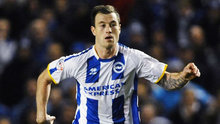 Ashley Barnes: Brighton striker is having a medical at Burnley