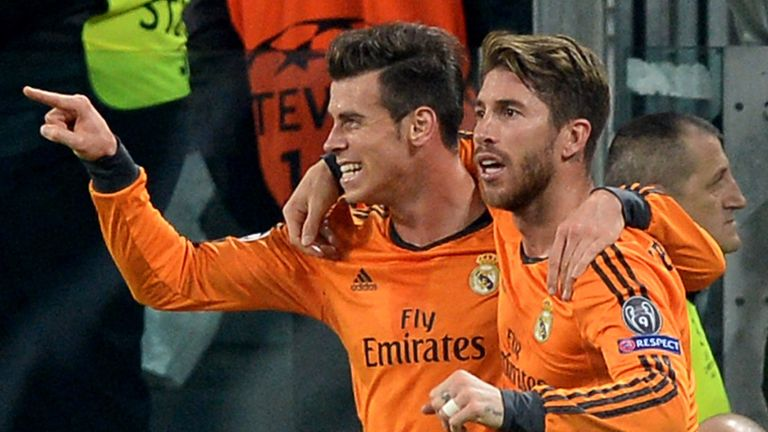 Gareth Bale: Was on target as Real Madrid held Juventus 2-2 in Turin