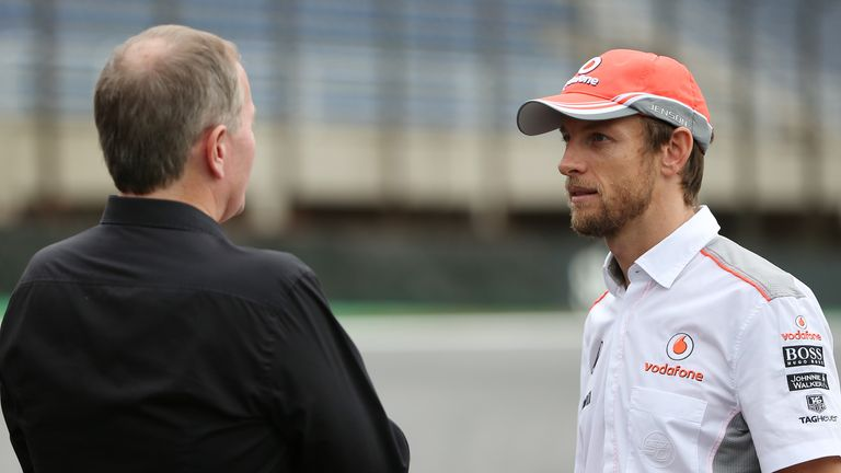 Jenson Button: In conversation with Martin Brundle in Brazil