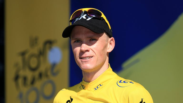 Chris Froome: Has extended his Team Sky contract