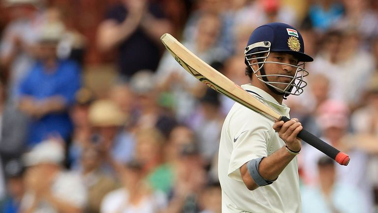 Sachin Tendulkar: needs a further 62 runs on day two to reach his hundred