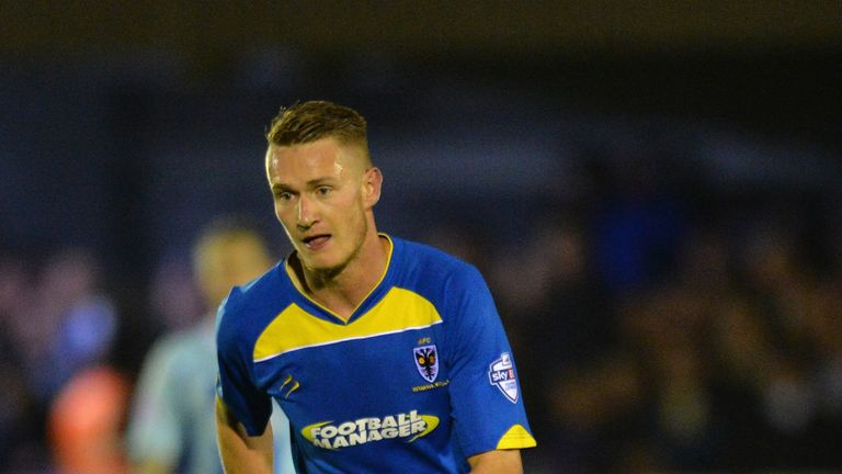 Michael Smith: On loan with Dons from Charlton