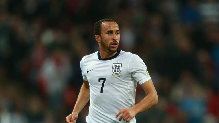 Andros Townsend: Started his England career by guiding Roy Hodgson's side to a place in the World Cup