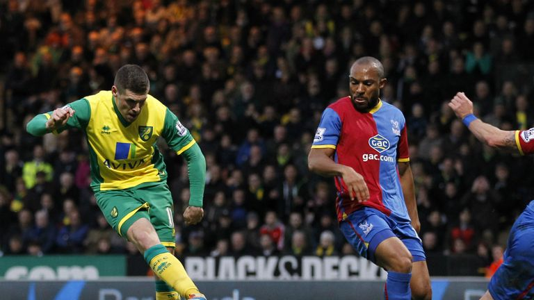 Gary Hooper: Completed an excellent Norwich City team goal