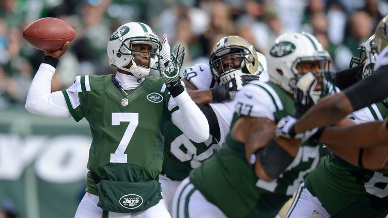 Geno Smith: Mixed results ithis season for New York Jets quarterback