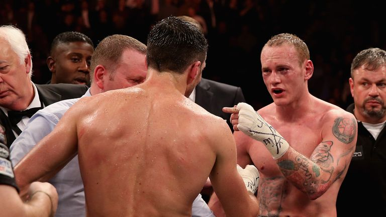 George Groves: Wants to get back in the ring with Froch