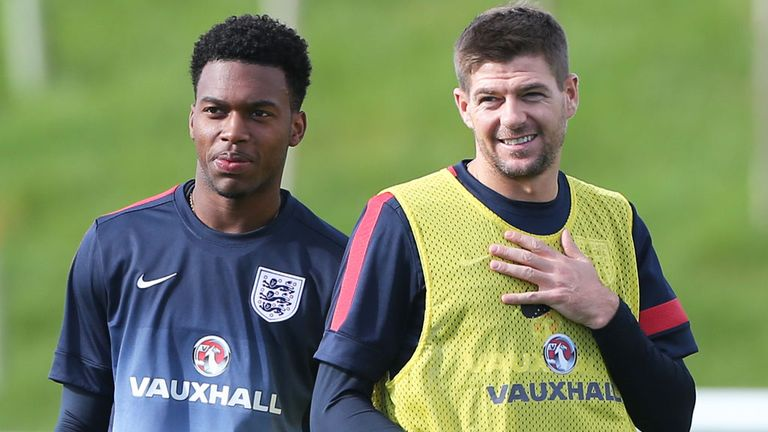Steven Gerrard hopes Daniel Sturridge will impress for England