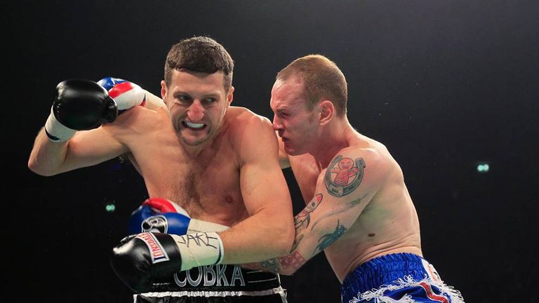 Froch and Groves: Will battle again on May 31
