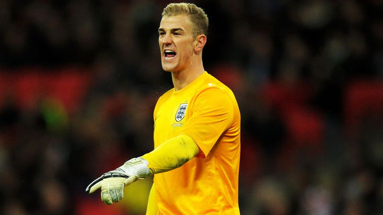 Joe Hart: Back to his best for England