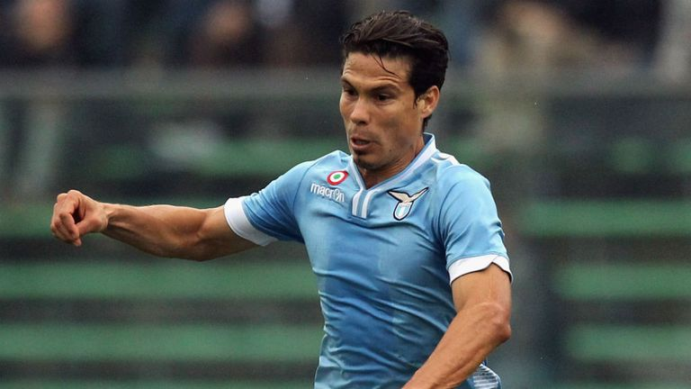 Hernanes: Looks likely to be leaving Lazio