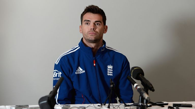 James Anderson: Insists the final bowling spot in the England team is still up for grabs