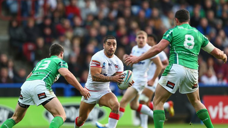 Rangi Chase: Less theatre, more hard work for England stand-off